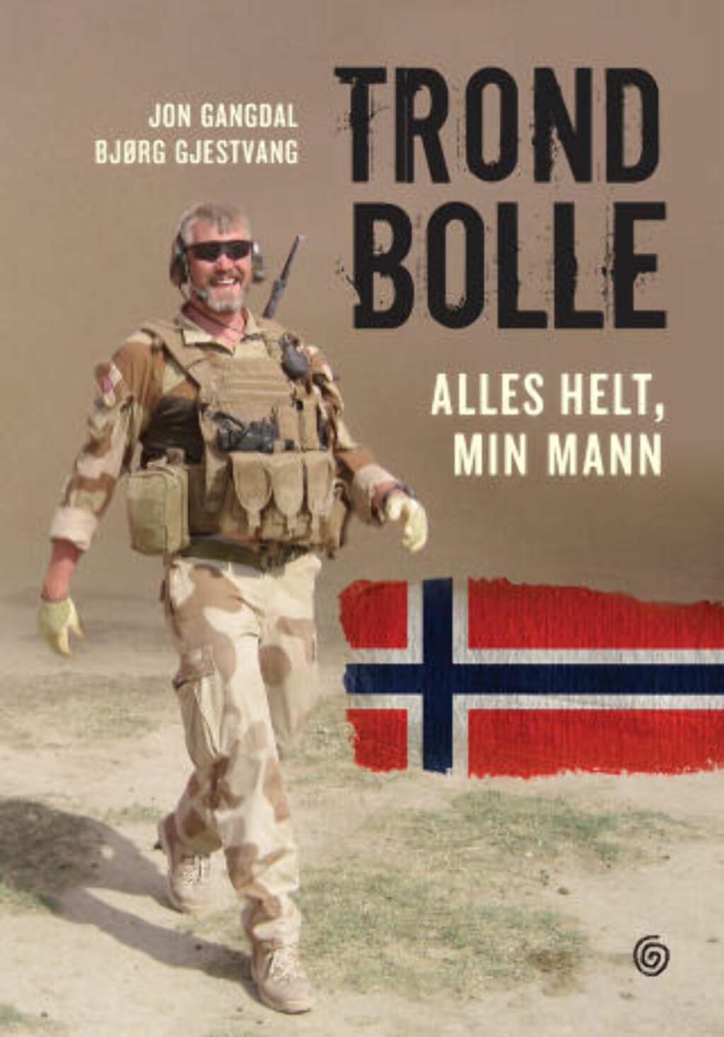 Ny bok: Bolles enke, Bjørg Gjestvang, og Jon Gangdal har skrevet bok om krigshelten Trond Bolles eventyrlige liv.