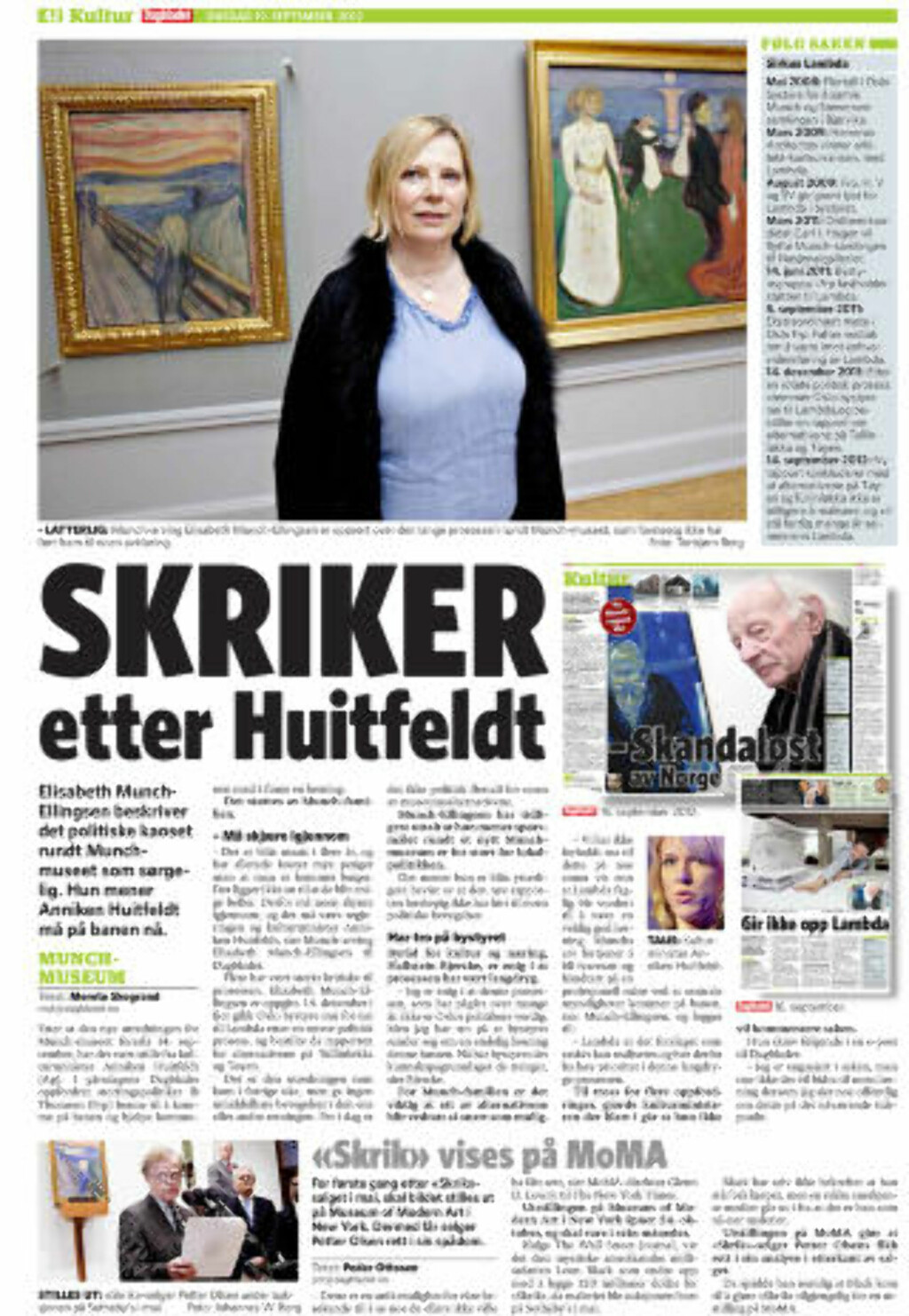 FAKSIMILE: Dagbladet 19. september 2012.