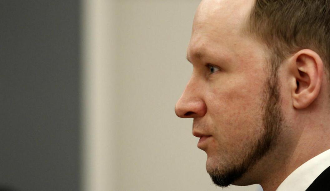 <strong>NY BOK:</strong> I en ny bok hevder forfatteren Aage Storm Borchgrevink at Anders Behring Breivik ble utsatt for mishandling og omsorgssvikt som barn. Forfatteren mener barndommen er grunnen til at Breivik endte opp som terrorist. Foto: STOYAN NENOV / REUTERS / NTB SCANPIX