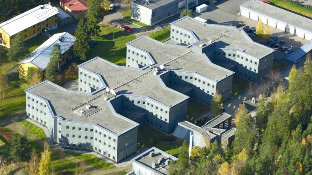 <strong>HOVEDKVARTER:</strong> Lutvann leir er en militær leir som ligger ved Lutvann i Oslo. Den fungerer som hovedkvarter for den militære etterretningen i Norge, den såkalte E-tjenesten. Foto: Øistein Norum Monsen / DAGBLADET