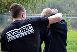 KAMPTRENING: Den nordiske motstandsbevegelsen holder stadig kurs i selvforsvar. Foto: Frihetskamp.net