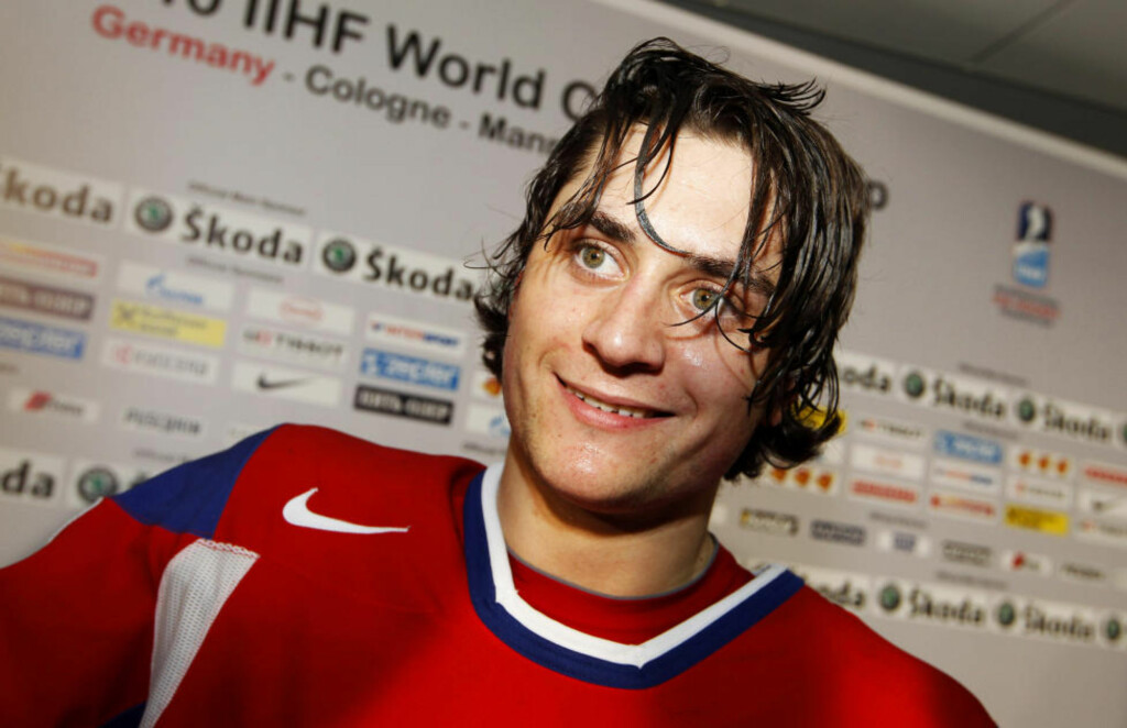 I GANG: Mats Zucarello Aasen scoret sitt første mål i KHL da Metallurg slo Torpedo 3-2. Foto: Håkon Mosvold Larsen / NTB Scanpix
