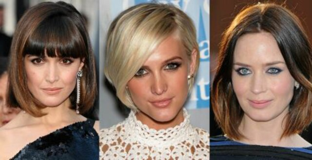 kort hårfrisyre dame 2020