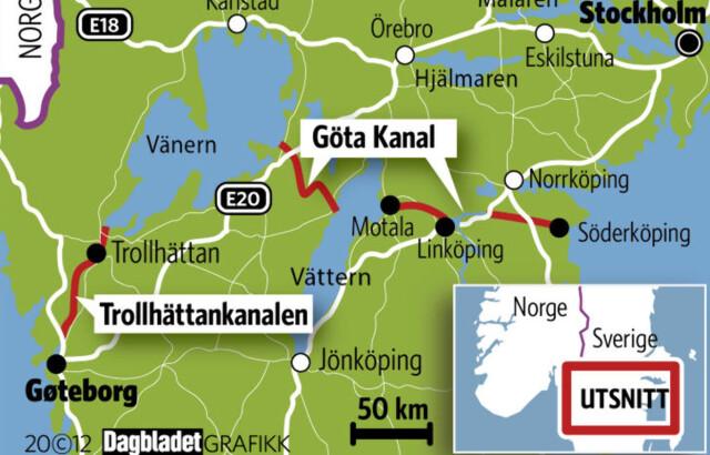 58 000 Mann Brukte 22 Ar Pa A Grave En Kanal Tvers Gjennom Sverige
