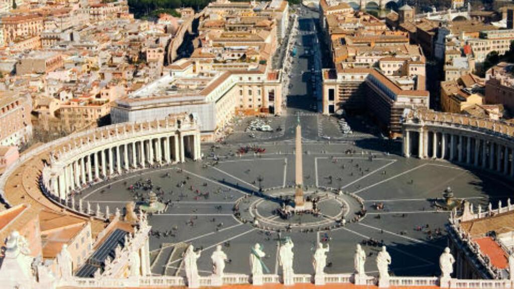 IKKE BARE MALER: Michelangelo står bak store deler av utformingen av St. Peterskirken i Vatikanet. Foto: Thinkstock
