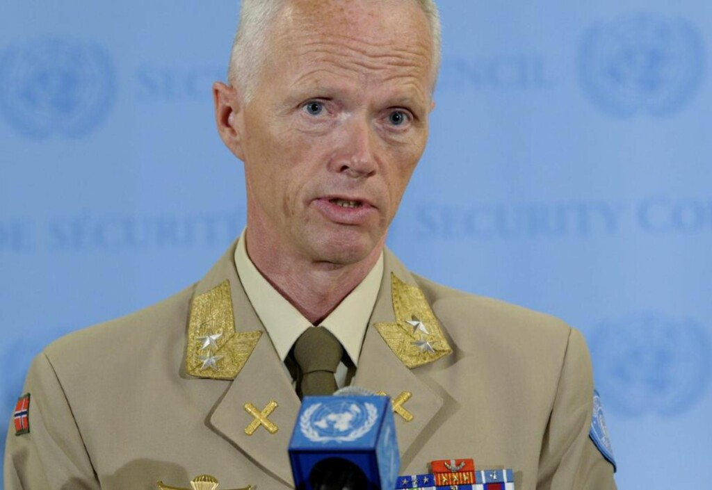 DET VERSTE JEG HAR SETT:  Major General Robert Mood. Foto: SCANPIX