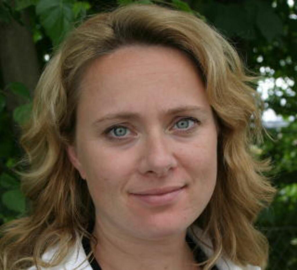 - BØR OPPHEVES: Sosialbyråd Anniken Hauglie (H) i Oslo kommune mener loven som forbyr sexforbud er årsaken bak den økende volden.  Foto: Privat