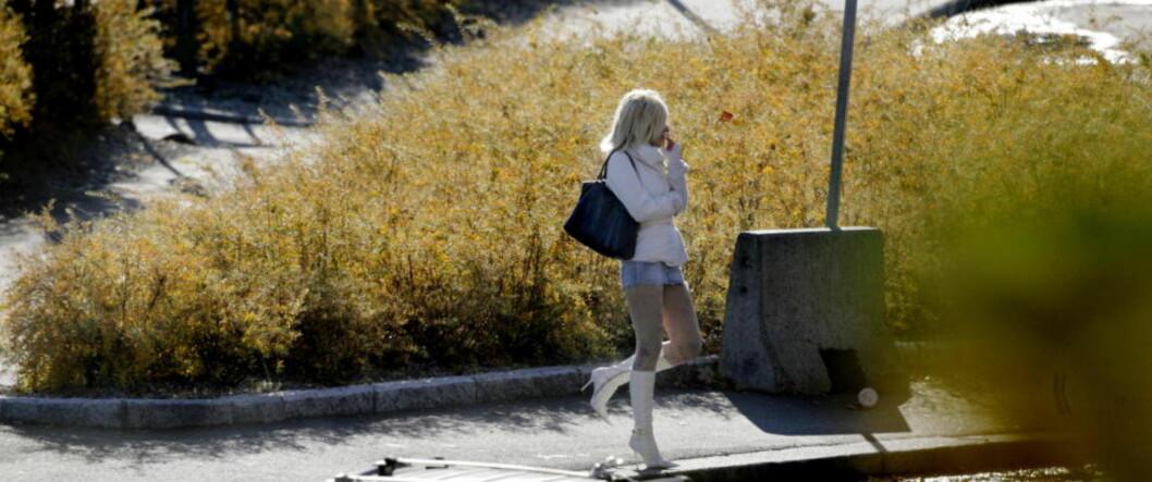 <strong>BRUTALT:</strong> Flertallet av de prostituerte kvinnene i Oslo har blitt utsatt for vold.  Foto: Espen Røst / Dagbladet