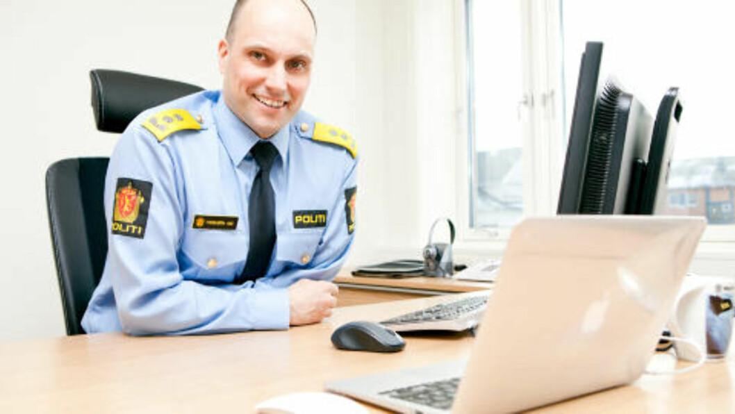 SKRYTER: Torbjørn Aas, politimester i Vestfinnmark. Foto: Vestfinnmark politidistrikt