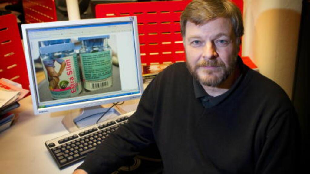 - ULOVLIG: Steinar Madsen i Legemiddelverket mener folk rett og slett blir lurt at reklamer som kommer med ulovlige medisinske påstander. FOTO: TORBJØRN BERG / DAGBLADET