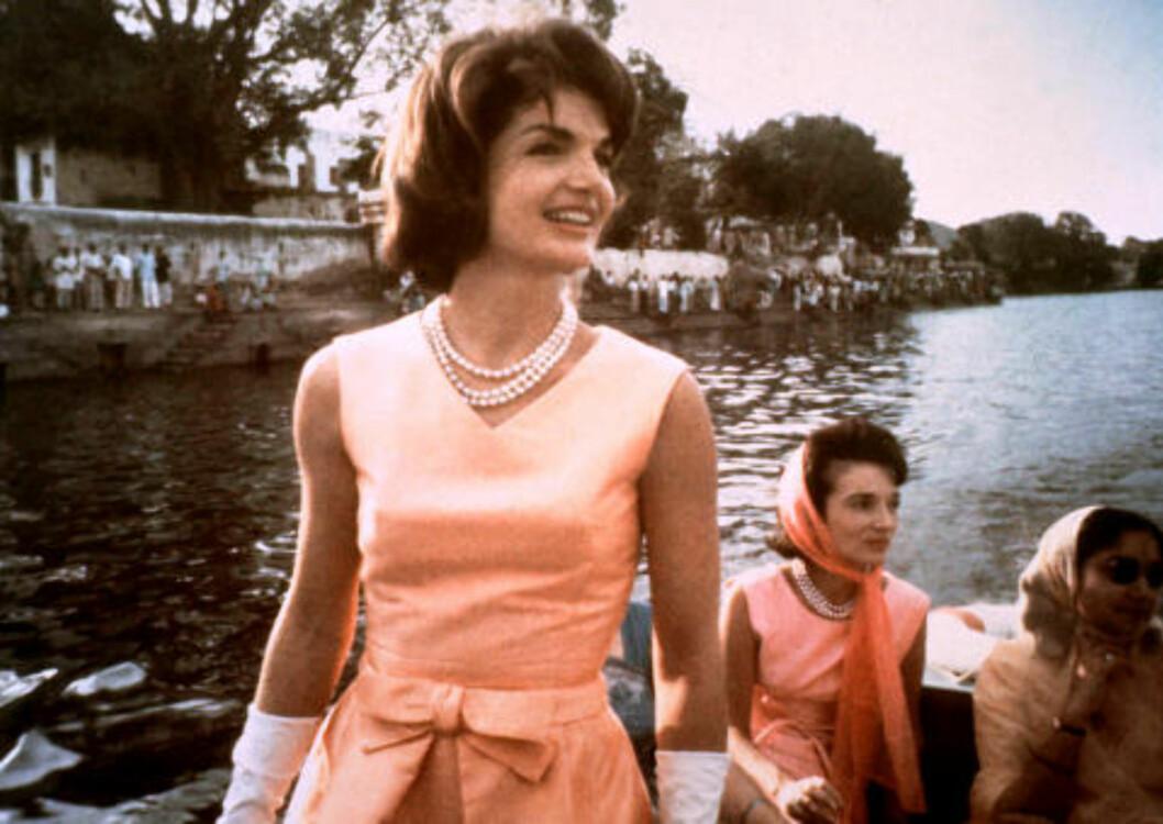 <strong>SPILLER «JACKIE»:</strong> I sin nye musikkvideo til låta «National Anthem» portretterer Lana Del Rey presidentfrua Jacqueline Kennedy Onassis. Foto: Scanpix