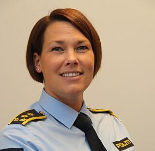 Politiadvokat Kristin Bjelkemyr-Østvang ved Utrykningspolitiet. Foto: Politiet