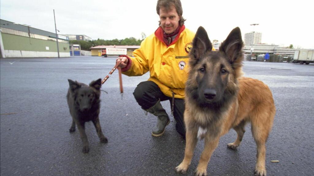 HUNDETRENER: Leder for Oslo Hundeskole, Geir Marring, er en av norges fremste hundeeksperter. Foto: Dagbladet