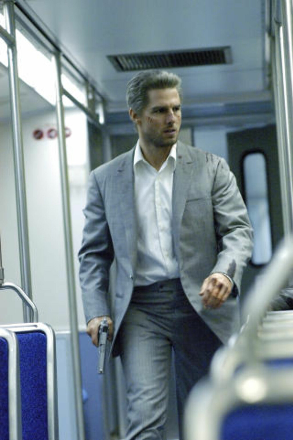 LEIEMORDER: I 2004 spilte Tom Cruise leiemorderen Vincent i «Collateral».