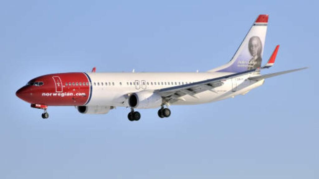 EUROPAS NEST BESTE: Norwegian er kåret til det nest beste lavprisselskapet i Europa, bak Easyjet. Foto: NORWEGIAN