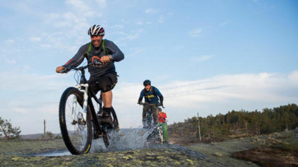 TERRENG FOR ALLE: I Nissedal finner du en rekke løyper både for nybegynnere og elitesyklister, forteller Canvas-sjef Jan Fasting. Foto: ROGER BRENDHAGEN