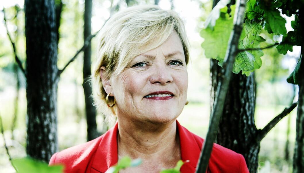 """<strong>Rike på natur:</strong> Selv om olja gjorde oss rike, mener Kristin Halvorsen at framtidig inntekt ligger i en annen del av naturen – i det&nbsp;<span style=""""background-color: initial;"""">grønne. Foto: Nina Hansen&nbsp;</span>"""