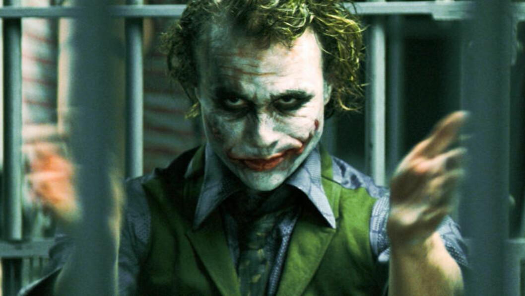 <strong> BATMANS FIENDE:</strong>  Karakteren «The Joker». Foto: Reuters