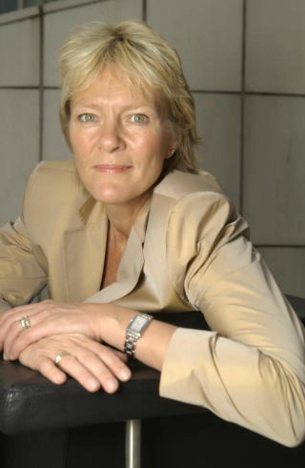 IKKE LETT: Kristin Clemet tror ikke det er så lett for hvilken som helst mann å øse ut sin mening om likestilling. Foto BRUN/AGNETE Dagbladet