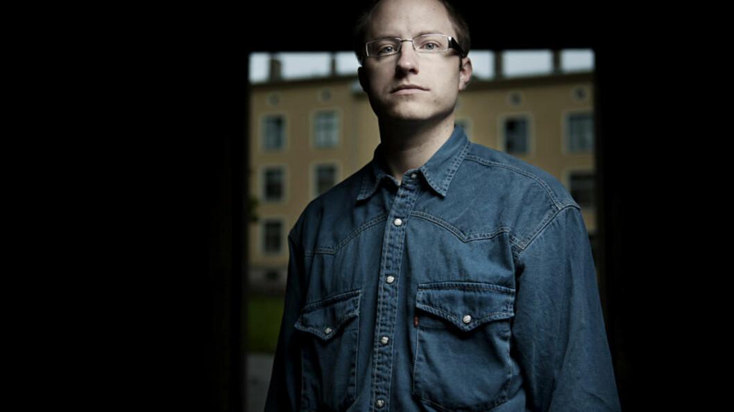 <strong>IKKE FENGSLET:</strong> Høyesteretts ankeutvalg avgjorde i dag at blogger Eivind Berge ikke kan varetektsfengsles. Foto: Benjamin A. Ward / Dagbladet