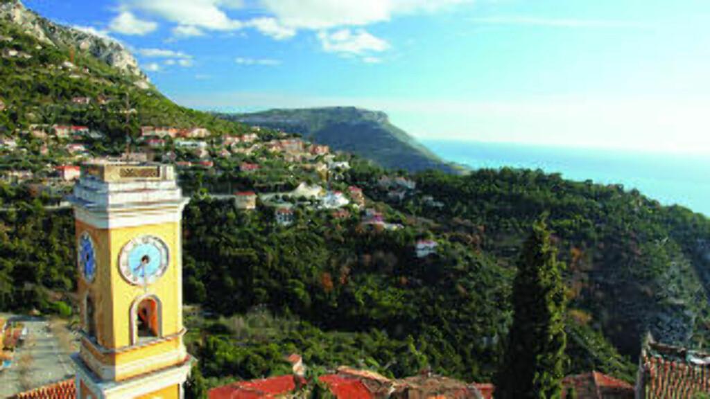 RIVIERAEN: Kystn fra Nice til Monaco byr på flott utsikt og egner seg godt for bilferie. Foto: Chris Brown / Creative Commons (CC BY-SA 2.0)