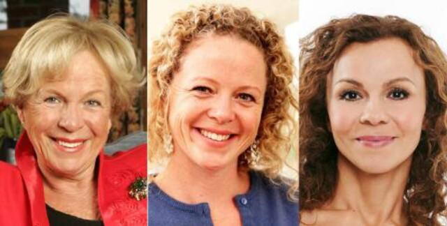 6be13fd1 MAT OG MOSJON: F.v. Grete Roede, Jeanette Roede og Kari Jaquesson er enige:
