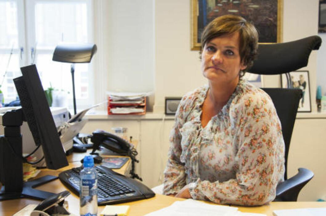 <strong>MODIG:</strong> Bistandsadvokat Mette Yvonne Larsen synes 22. juli kommisjonen har vært modig i sin rapport. Foto: Per Flåthe / Dagbladet