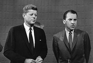 image: «Ikke stol på dem som sier at de solbrune kjakene sikret John F. Kennedy seieren over Richard Nixon»