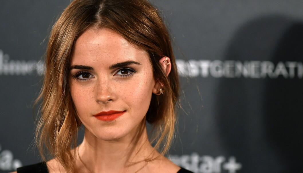 Da et lugubert nettsted la ut bilde av Emma Watson i gjennomsiktig topp tok hun affære
