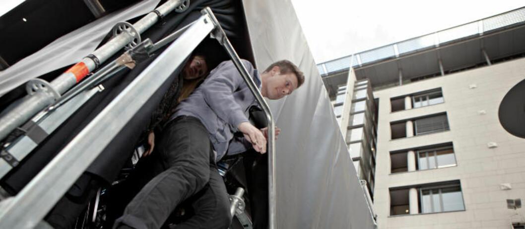 SPENT: Eskil Pedersen er spent på hvordan han vil reagere når han skal følge første dag i rettsaken. Foto: Lars Eivind Bones / Dagbladet