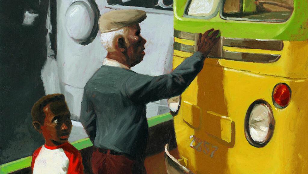 LYSSTERKE BILDER: Maurizio A.C. Quarello står for illustrasjonene i «Rosas buss».