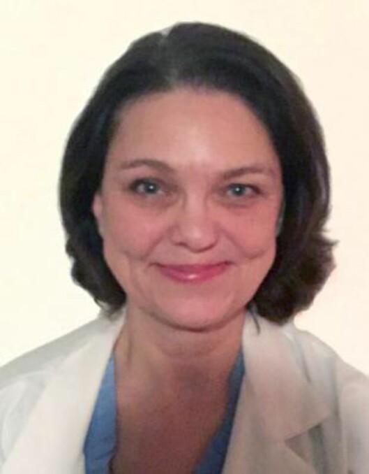 <strong>LITE KJENT SYKDOM:</strong> - Årsaken til lipødem er ikke klarlagt, men man tror det er en genetisk basert sykdom, sier indremedisiner Nina Bryhn. Foto: Privat