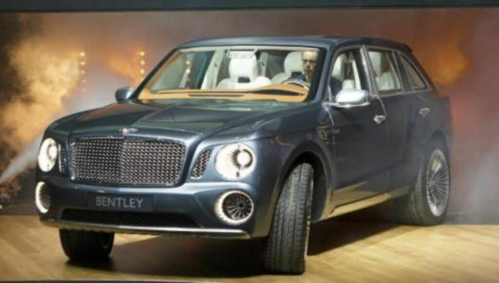 SUPER-SUV: Bentley EXP 9 F. FOTO: Dirk Michael Deckbar