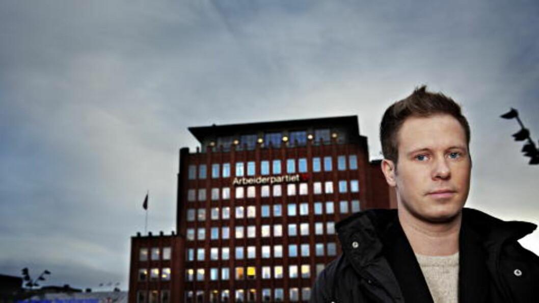 AUF-LEDER: Eskil Pedersen vil ikke kommentere uttalelsen. Politiet har ansvar for sikkerheten, sier Pedersen. Foto: Nina Hansen