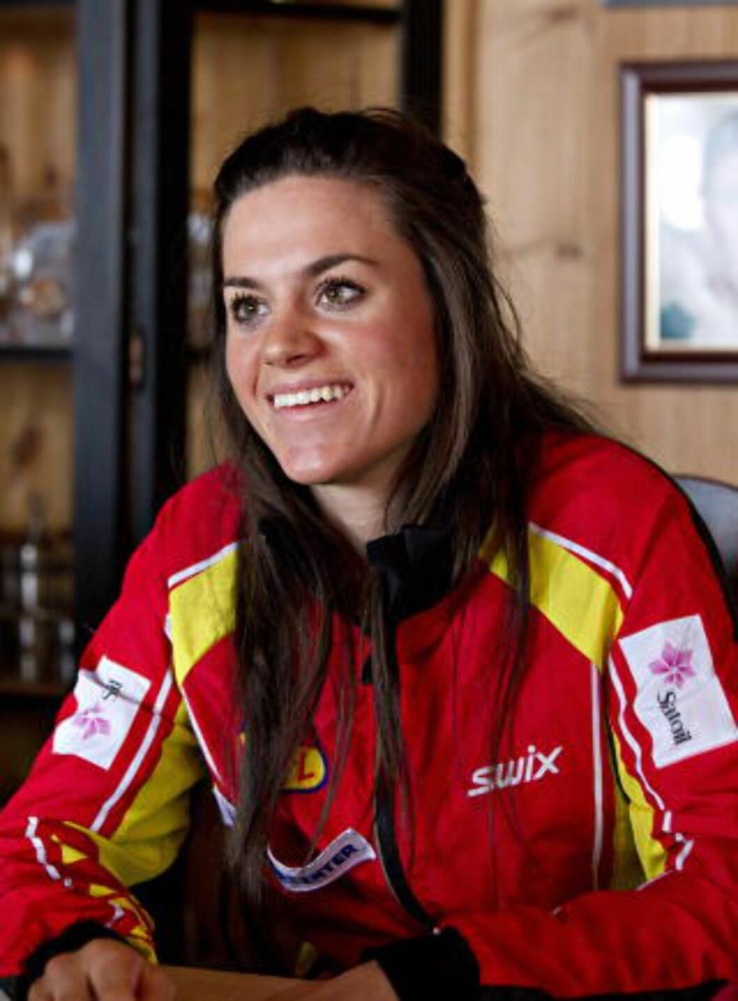 <strong>TOUR-DRØM:</strong> Heidi mener det er mulig å komme på pallen sammenlagt i Tour de Ski i løpet av de neste to sesongene, og trigges mer av touren enn VM i Val di Fiemme.