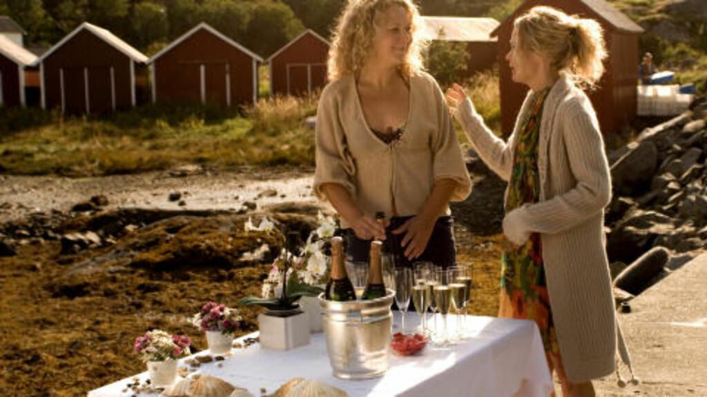 TURISTMÅL: «Himmelblå» viste den vakre naturen på Ylvingen.  Foto: NRK
