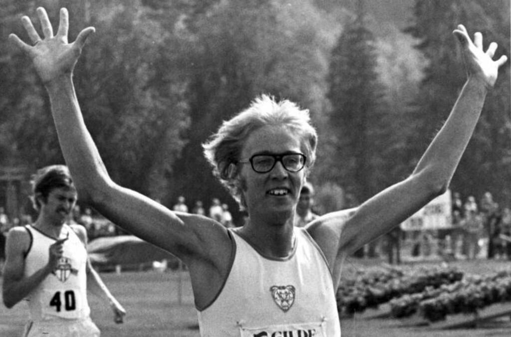 HADDE REKORDEN I 36 ÅR: Lars Martin Kaupangs norske rekord har stått seg siden 1976. Foto:  NTB arkivfoto / SCANPIX