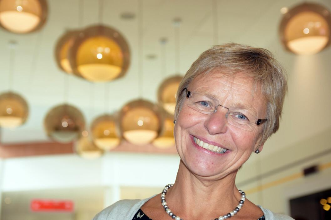 JORDMOR: Kirsten Jørgensen, leder av Jordmorforeningen. Foto: Den Norske Jordmorforening