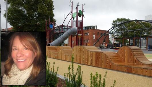 - Vi har fått verdens fineste lekeplass i byen vår… og foreldre sutrer!