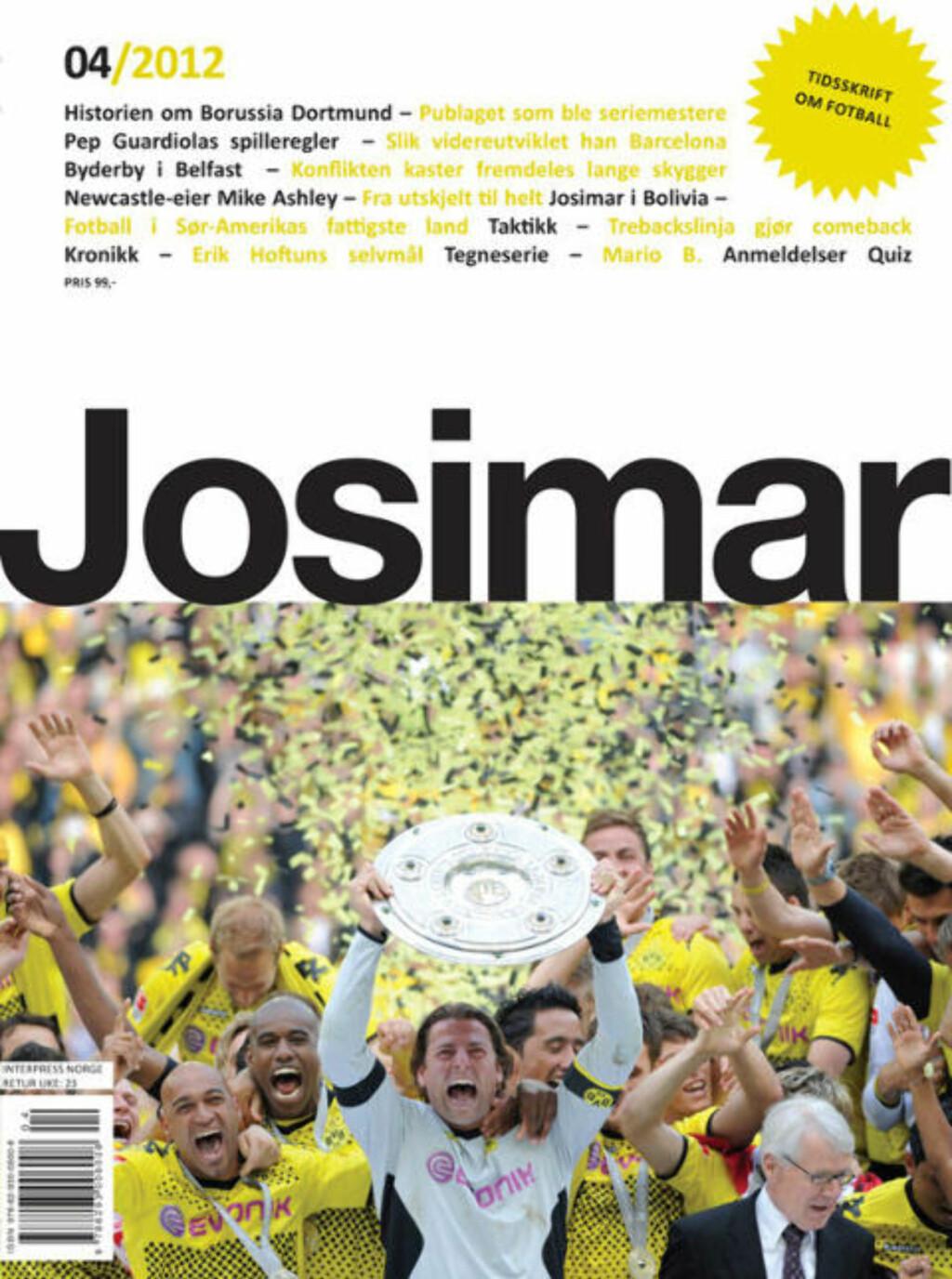 Kronikken er en forkortet versjon av en artikkel i Josimar 4/2012, som kommer ut i disse dager.