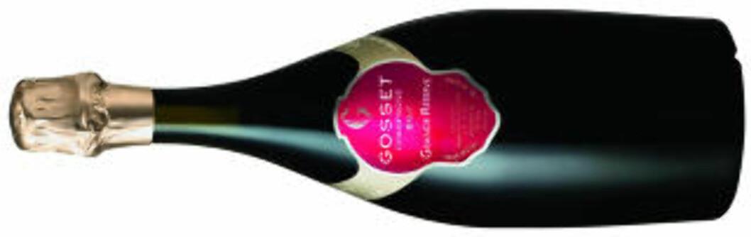 BØR ERFARES: Gosset Grande Réserve Brut er fra det eldste vinhuset i Champagne.