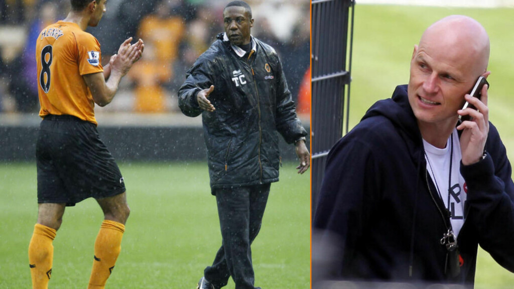 ER DETTE TRENER-TEAMET?: Britisk presse tror Ståle Solbakken blir ansatt som ny manager i Wolverhampton. Flere hevder at den nåværende manageren Terry Connor går tilbake til sin rolle som assistenttrener. Foto:  AFP PHOTO/IAN KINGTON og Eduard Bopp.