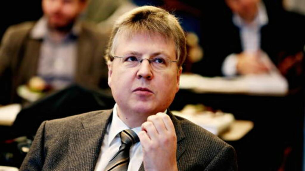 FORFATTER:  Professor i økonomisk historie ved BI,  Knut Sogner, har skrevet boka om familiedynastiet Andresen. FOTIO: JACQUES HVISTENDAHL/DAGBLADET.