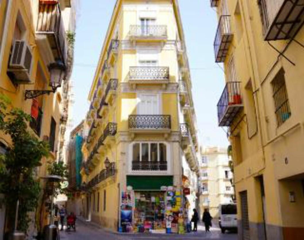 VALENCIA: I den spanske storbyen finner du spennende restauranter inne i sidegatene. Foto: MORTEN STOKKAN