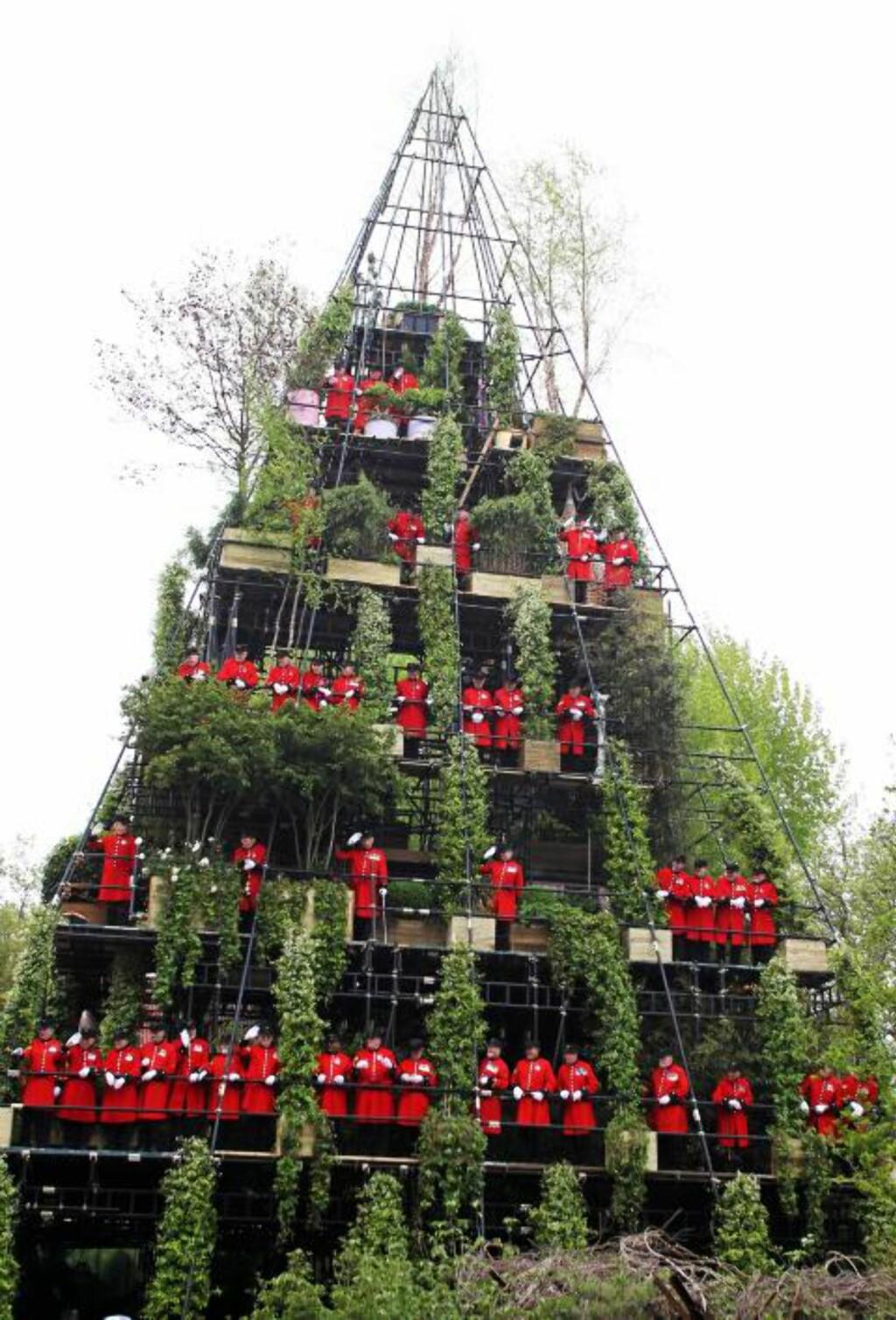 JA, DETTE ER EN HAGE: Westland Magical Garden Tower utforsker grensene for hva en hage kan være. Foto: RHS/Andy Paradise