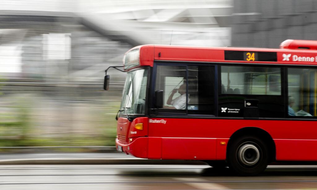 MULIG STREIK: Kollektivtransporten vil bli rammet hardt av en streik. De fleste busslinjene blir innstilt i sin helhet blant annet i Oslo. Foto: Jon Olav Nesvold / NTB scanpix