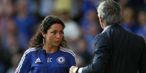 image: Mourinho kollapset på hotellgulvet. Fikk hjelp av utskjelte Eva