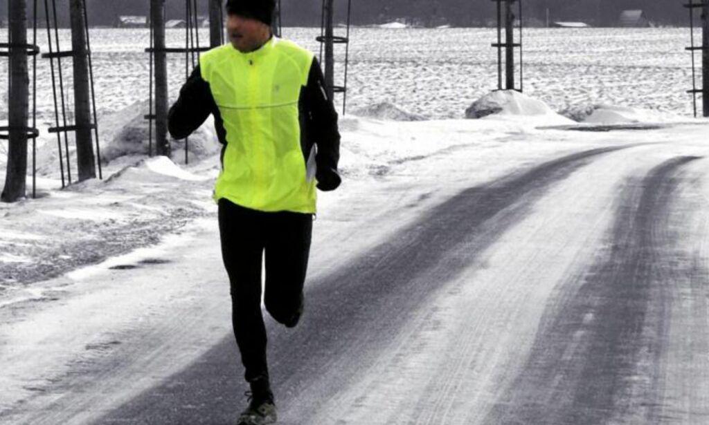 image: Slik løper du på vinterføre