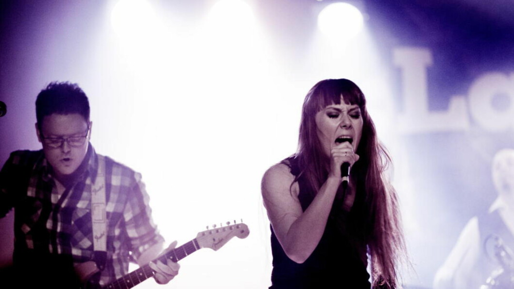 <strong>TILBAKE PÅ BYLARM:</strong> Heidi Solheim og gitarist Espen Elverum Jakobsen i bandet Pristine under Bylarm i Oslo i fjor. Under årets Bylarm debuterer Solheim  som soloartist. Foto: Sveinung U. Ystad, Dagbladet