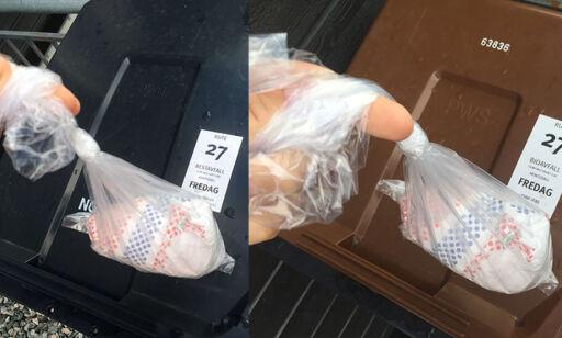 image: Skal bleier kastes i restavfall eller matavfall?